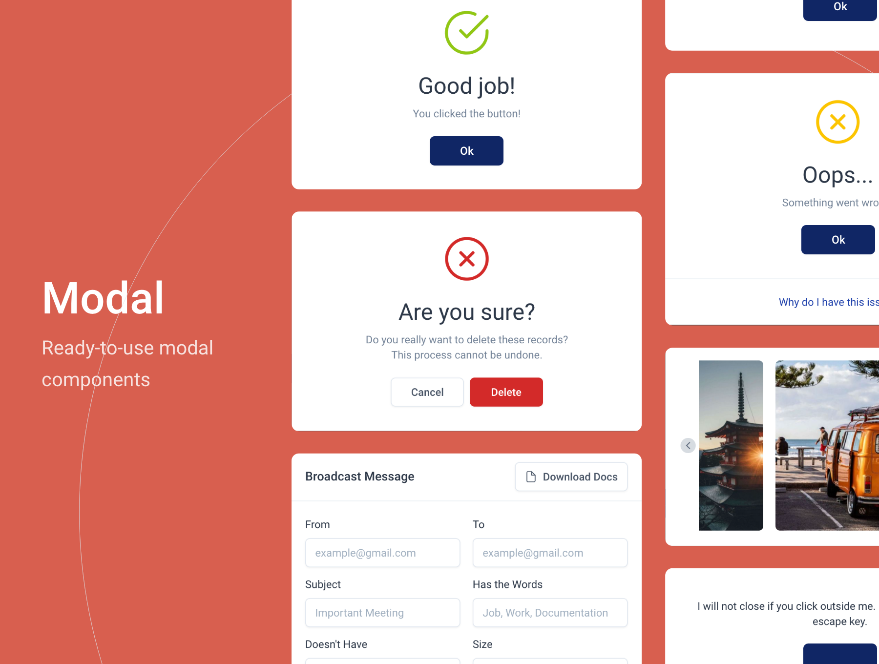Arcone - Bootstrap 5 Admin Dashboard Template - 6